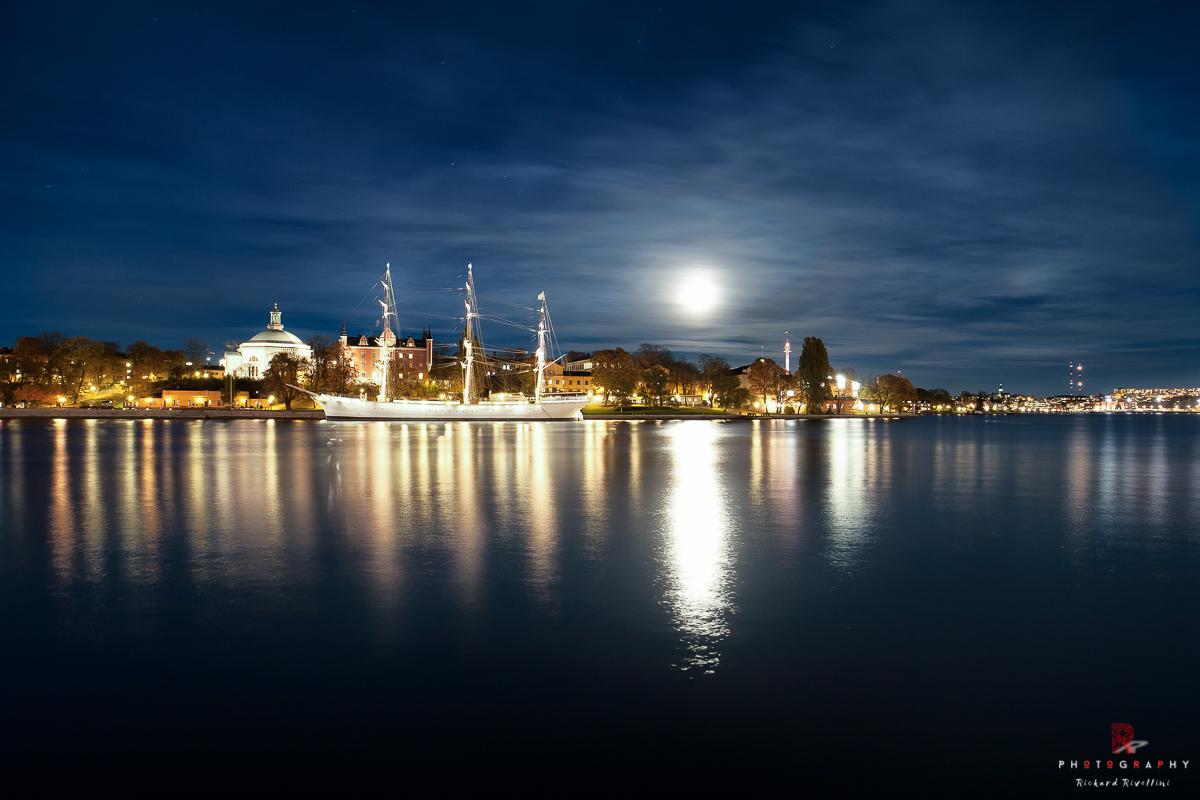 Skeppsholmen - af Chapman by Night
